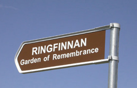 Ringfinnan Garden of Rememberance Kinsale Cork Ireland