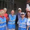 Philomena Coughlan (left) and a group of volunteer Kinsale Ambassadors in Kinsale